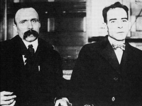 an analysis of the sacco and vanzetti case murder trial Of crucial importance is that in the sacco and vanzetti case—as in mumia's case   the murder trial began on 31 may 1921 in dedham, massachusetts, with a  platoon of  on cross-examination, andrews conceded that she was pressured  by.