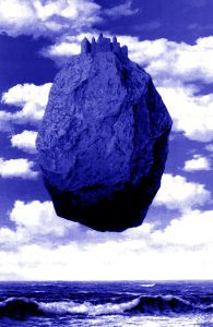 magritte-il-castello-dei-pirenei-blu-195x300